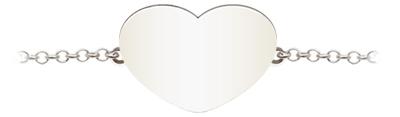 1 愛心 | Heart | 銀鍊