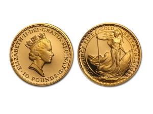 1988大不列顛金幣0.1盎司