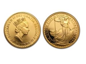 1988大不列顛金幣0.25盎司