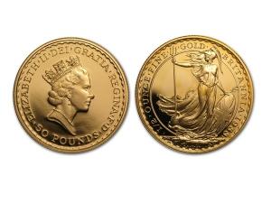 1988大不列顛金幣0.5盎司