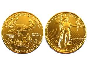 1986美國鷹揚金幣0.5盎司限量珍藏版