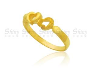 戀心-黃金戒指
