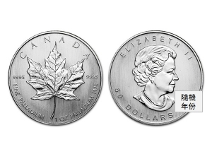 加拿大楓葉鈀金幣1盎司
