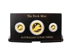 1996年澳洲鼠年典藏金幣套組