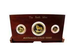 1997年澳洲牛年典藏金幣套組