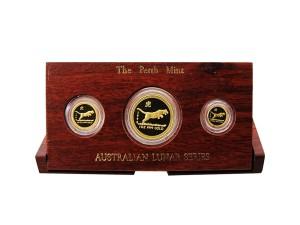 1998年澳洲虎年典藏金幣套組