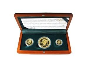 2001年澳洲蛇年典藏金幣套組