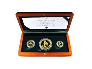 2003年澳洲羊年典藏金幣套組