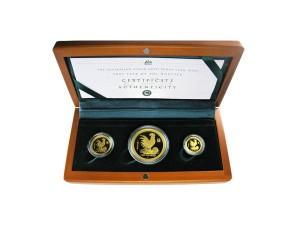 2005年澳洲雞年典藏金幣套組
