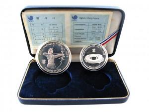 第24屆漢城奧運紀念套幣精裝版