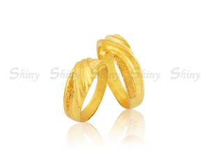 黃金戒指-男女對戒