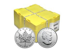 2012加拿大楓葉銀幣1盎司〖1箱500枚〗