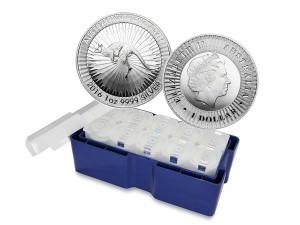 2016澳洲袋鼠銀幣1盎司〖1箱250枚〗