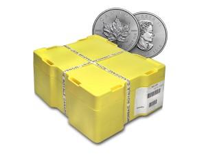 2016加拿大楓葉銀幣1盎司〖1箱500枚〗