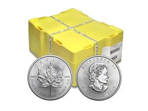 2017加拿大楓葉銀幣1盎司〖1箱500枚〗