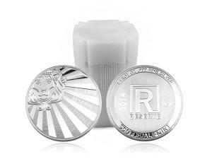 Scottsdale Reserve銀幣1盎司〖1管20枚〗