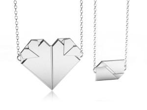 情書-純銀對鍊