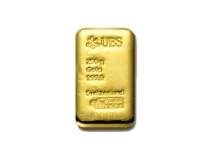 UBS瑞士金條250克