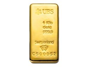 UBS瑞士金條1公斤