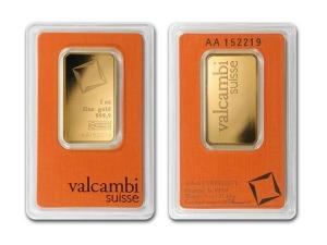 Valcambi金條1盎司