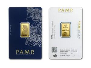 PAMP財富女神金條5克