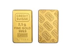 Credit Suisse金條2.5克