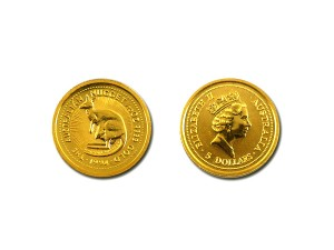 1994澳洲袋鼠金幣0.05盎司