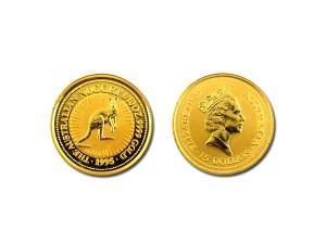 1995澳洲袋鼠金幣0.1盎司