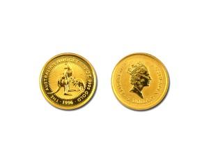 1996澳洲袋鼠金幣0.05盎司
