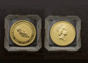 1988澳洲鴻運金幣0.25盎司