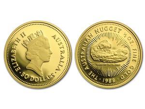 1988澳洲鴻運金幣0.5盎司