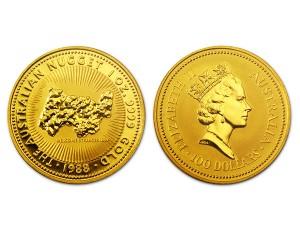 1988澳洲鴻運金幣1盎司