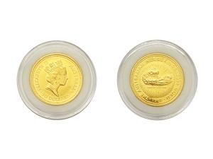 1989澳洲鴻運金幣0.5盎司