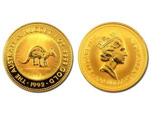1995澳洲袋鼠金幣1盎司