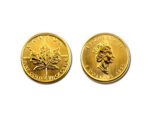 1995加拿大楓葉金幣0.1盎司