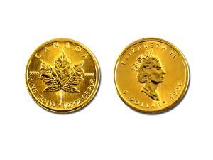 1996加拿大楓葉金幣0.1盎司