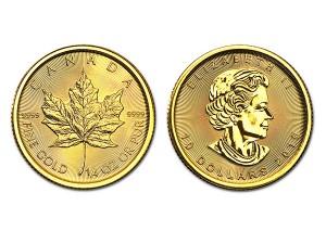 2016加拿大楓葉金幣0.25盎司