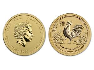 2017澳洲生肖雞金幣0.05盎司