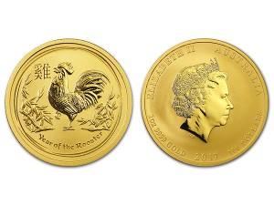2017澳洲生肖雞金幣1盎司