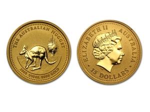2005澳洲袋鼠金幣0.05盎司