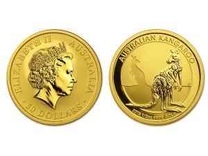 2016澳洲袋鼠金幣0.5盎司