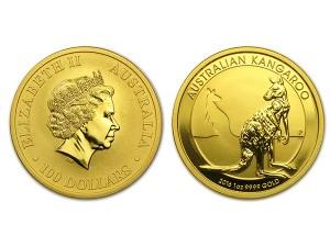 2016澳洲袋鼠金幣1盎司