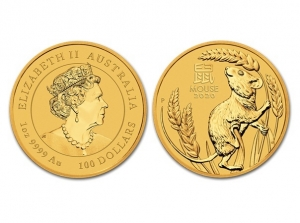 2020澳洲生肖鼠金幣1盎司(系列III)