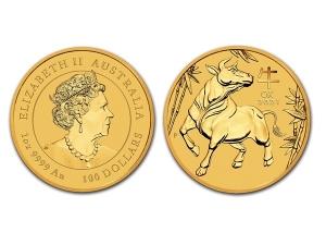 2021澳洲生肖牛金幣1盎司(系列III)