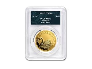 2017澳洲天鵝金幣1盎司
