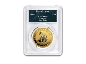 2018澳洲天鵝金幣1盎司