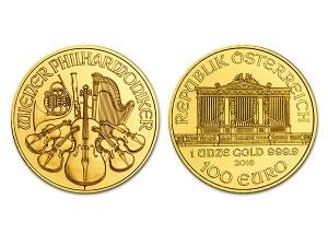 2016維也納愛樂金幣1盎司