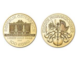 2017維也納愛樂金幣1盎司
