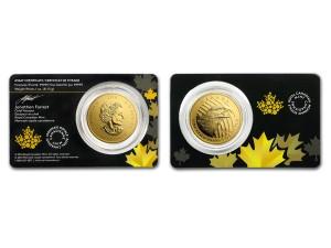 2018加拿大老鷹.99999金幣1盎司(原廠封卡)