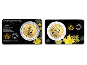 2017加拿大麋鹿.99999金幣1盎司(原廠封卡)